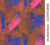 various pencil strokes....   Shutterstock .eps vector #1135953848