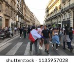 france world cup 2018...   Shutterstock . vector #1135957028