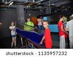 children on vacation children's ... | Shutterstock . vector #1135957232