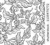 vector seamless pattern of... | Shutterstock .eps vector #1135975772