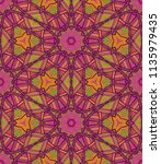 vector seamless ethnic pattern... | Shutterstock .eps vector #1135979435