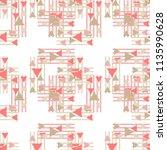 ethnic boho seamless pattern. ... | Shutterstock .eps vector #1135990628