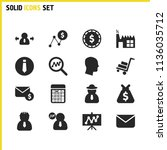 work icons set with board  loop ...