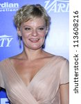 BEVERLY HILLS - SEP 21:  Martha Plimpton at the 'Variety and Women in Film Pre-Emmy Event' at Scarpetta on September 21, 2012 in Beverly Hills, California - stock photo