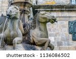 Old Water Fountain With Horse...