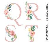 Floral Alphabet Set   Letters ...