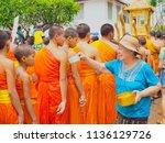 luang prabang  lao   april 15 ... | Shutterstock . vector #1136129726