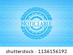 noticeable light blue water... | Shutterstock .eps vector #1136156192