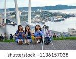 russia  vladivostok  june 11 ... | Shutterstock . vector #1136157038