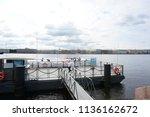 saint petersburg   russia  ...   Shutterstock . vector #1136162672