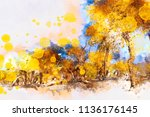 Illustration Image Of Trees In...