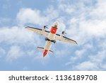 farnborough  uk   july 16 ... | Shutterstock . vector #1136189708