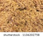 block rubber  rubber rods made... | Shutterstock . vector #1136202758