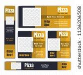 creative design for food web...   Shutterstock .eps vector #1136206508
