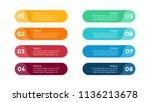 vector circle arrows... | Shutterstock .eps vector #1136213678