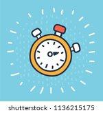 vector cartoon illustration of...   Shutterstock .eps vector #1136215175