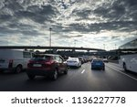 russia  moscow. 17 july 2018.... | Shutterstock . vector #1136227778
