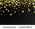 abstract dark background with... | Shutterstock .eps vector #1136254892