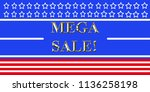 red white and blue pattern with ...   Shutterstock . vector #1136258198