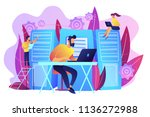 system administrators or... | Shutterstock .eps vector #1136272988
