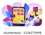 it professionals are creating... | Shutterstock .eps vector #1136273498