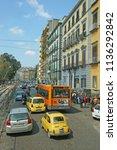 naples  campania   italy  ... | Shutterstock . vector #1136292842
