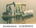 petroleum  petrodollar and... | Shutterstock . vector #1136304692
