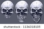 detailed graphic realistic cool ... | Shutterstock .eps vector #1136318105