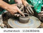 master class on modeling of... | Shutterstock . vector #1136383646