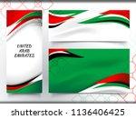 vector illustration of united... | Shutterstock .eps vector #1136406425
