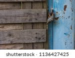 background photo of old rusty... | Shutterstock . vector #1136427425