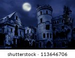 Abandoned Manor In Gothic Styl...