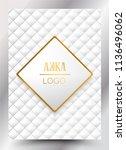 luxury premium menu design... | Shutterstock .eps vector #1136496062