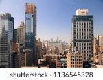cityscape skyline of various...   Shutterstock . vector #1136545328