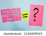 conceptual hand writing showing ... | Shutterstock . vector #1136549015