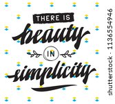 inspirational quote  motivation....   Shutterstock .eps vector #1136554946