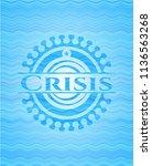 crisis water representation... | Shutterstock .eps vector #1136563268