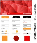 light red  yellow vector design ...