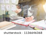 business photo professional... | Shutterstock . vector #1136646368