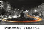 Night View Of Wenceslas Square  ...