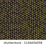 abstract seamless lattice... | Shutterstock .eps vector #1136656058