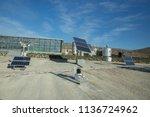 solar panel  alternative... | Shutterstock . vector #1136724962