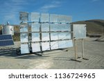 solar panel  alternative... | Shutterstock . vector #1136724965
