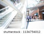 blurred images of a shopping...   Shutterstock . vector #1136756012