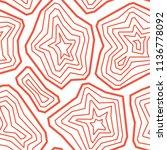 vector seamless pattern. ... | Shutterstock .eps vector #1136778092