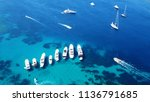 Aerial Photo Of Luxury Yachts...