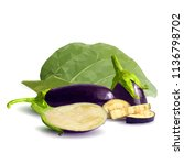 fresh  nutritious  tasty... | Shutterstock .eps vector #1136798702