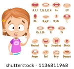 mouth animation set for... | Shutterstock .eps vector #1136811968