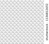 seamless white abstract... | Shutterstock .eps vector #1136812652