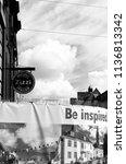 salisbury  wiltshire  england   ... | Shutterstock . vector #1136813342